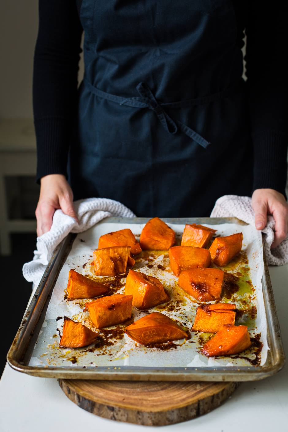 roasted pumpkin from the Taste of Memories Hungarian country kitchen www.tasteofmemories.com