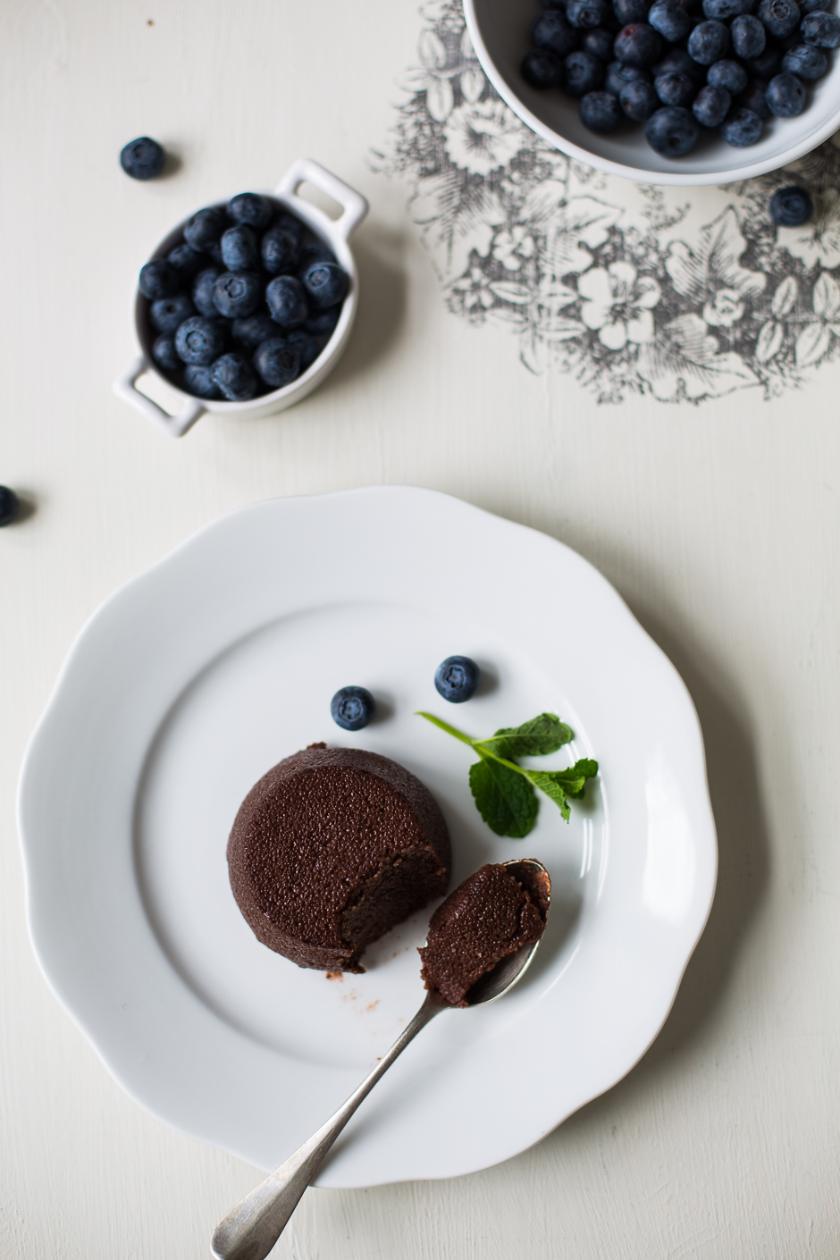 cocoa semolina pudding from the Taste of Memories Hungarian country kitchen www.tasteofmemories.com