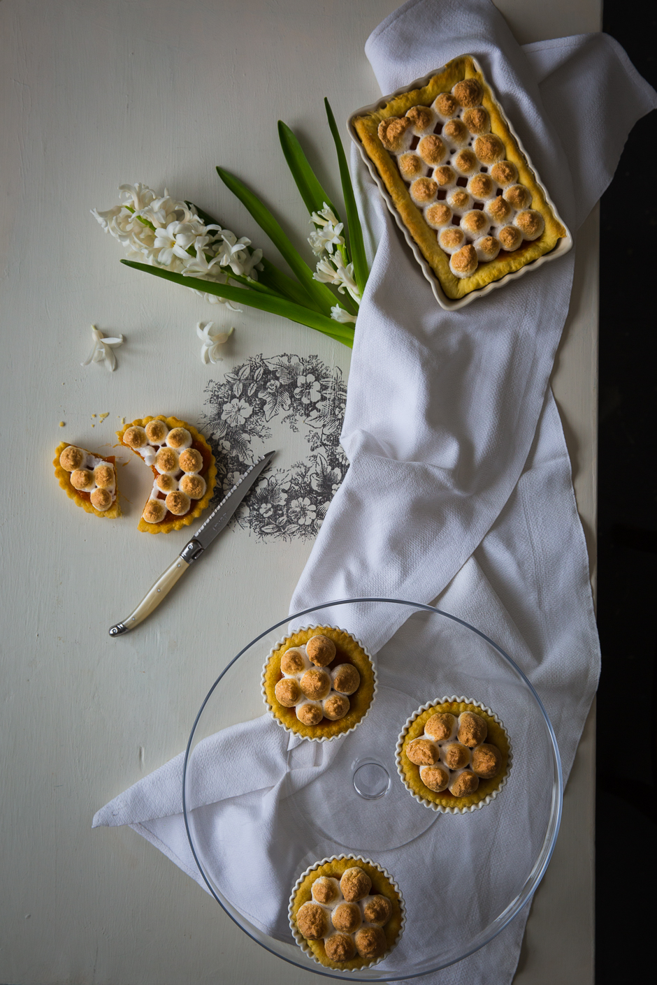 woman's whim cake from the Taste of Memories Hungarian country kitchen www.tasteofmemories.com